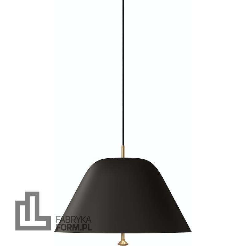 Lampa wisząca Levitate 40 cm czarna