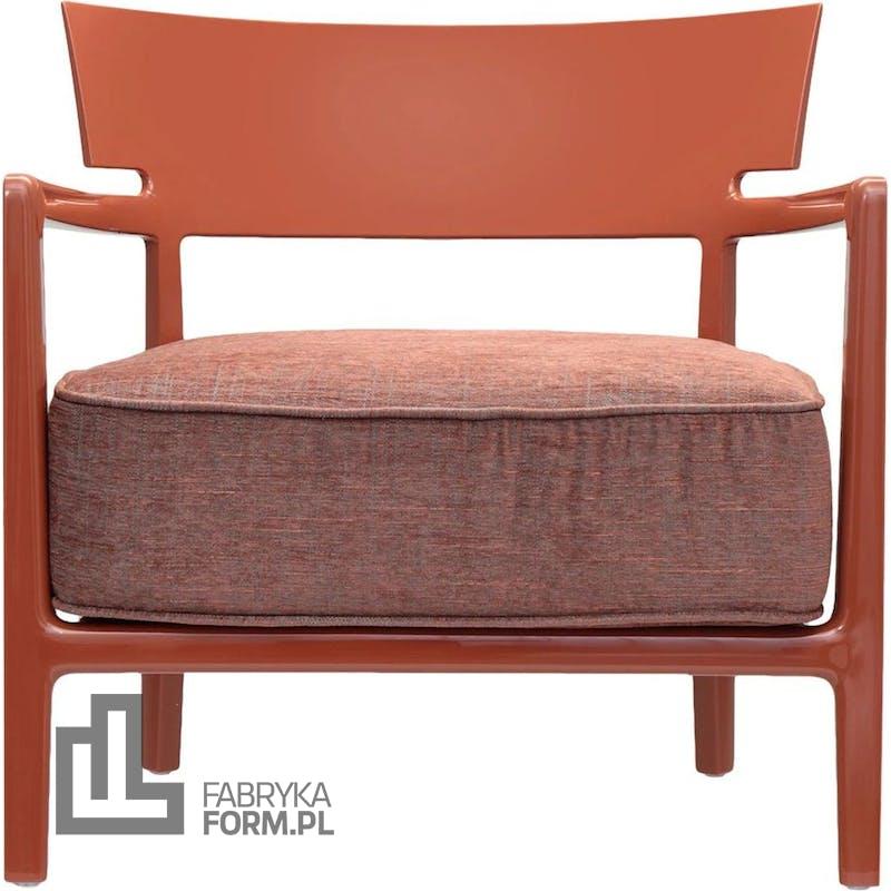 Fotel Cara gładki pomarańczowy