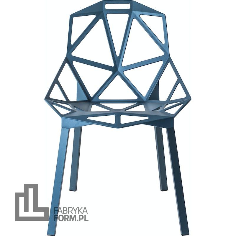 Krzesło Chair_One niebieskie