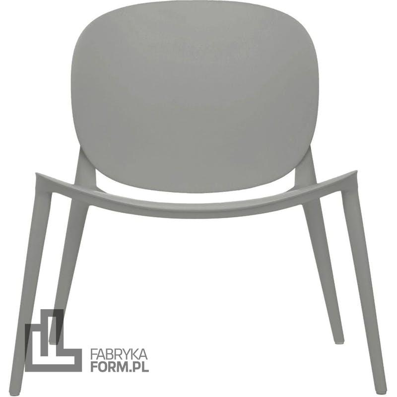 Krzesło Be Bop matowe szare