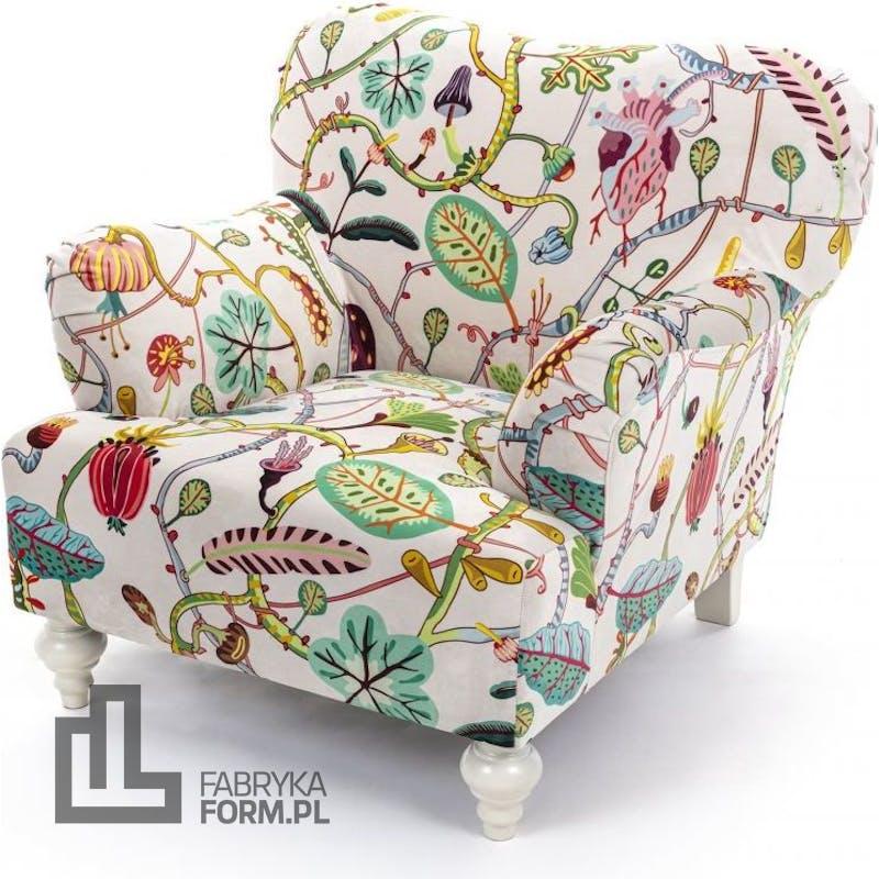 Fotel Botanical Diva biały