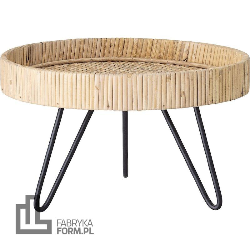 Stolik Bloomingville 30 cm na metalowych nóżkach