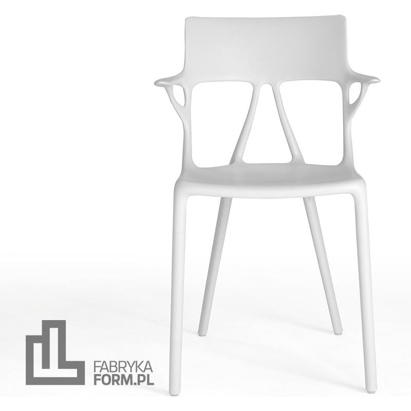 Krzesło A.I. białe