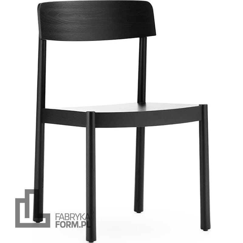Krzesło Timb czarne