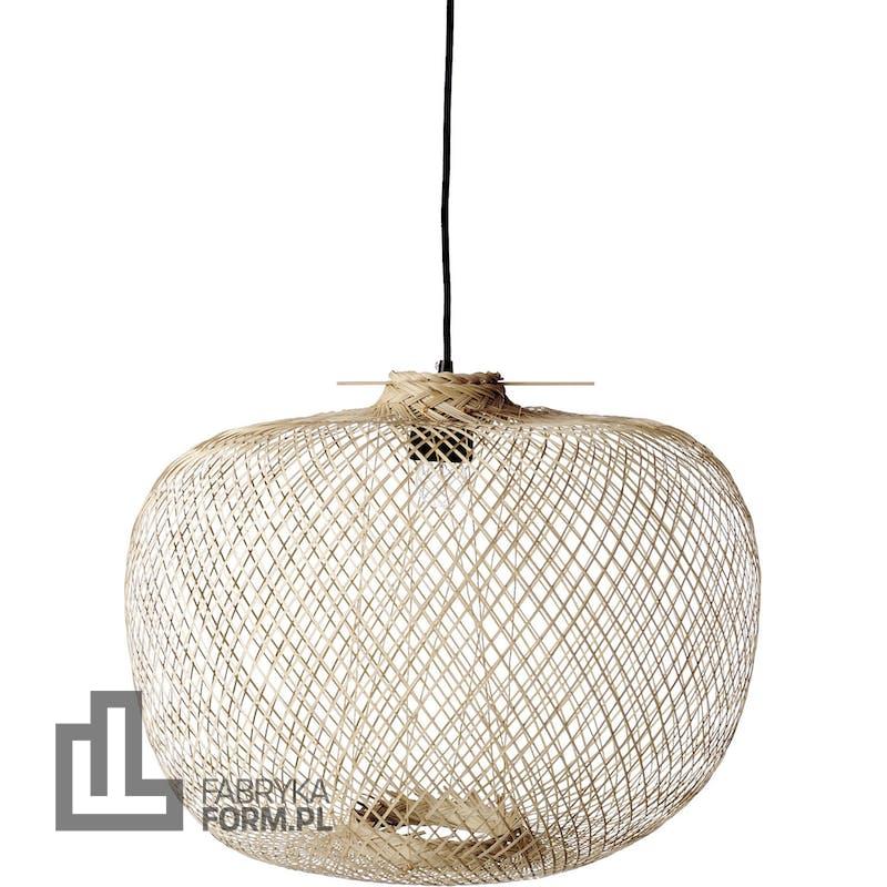 Lampa wisząca Bloomingville 42 cm bambusowa