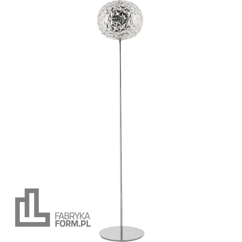 Lampa stojąca Planet 160 cm kryształowa