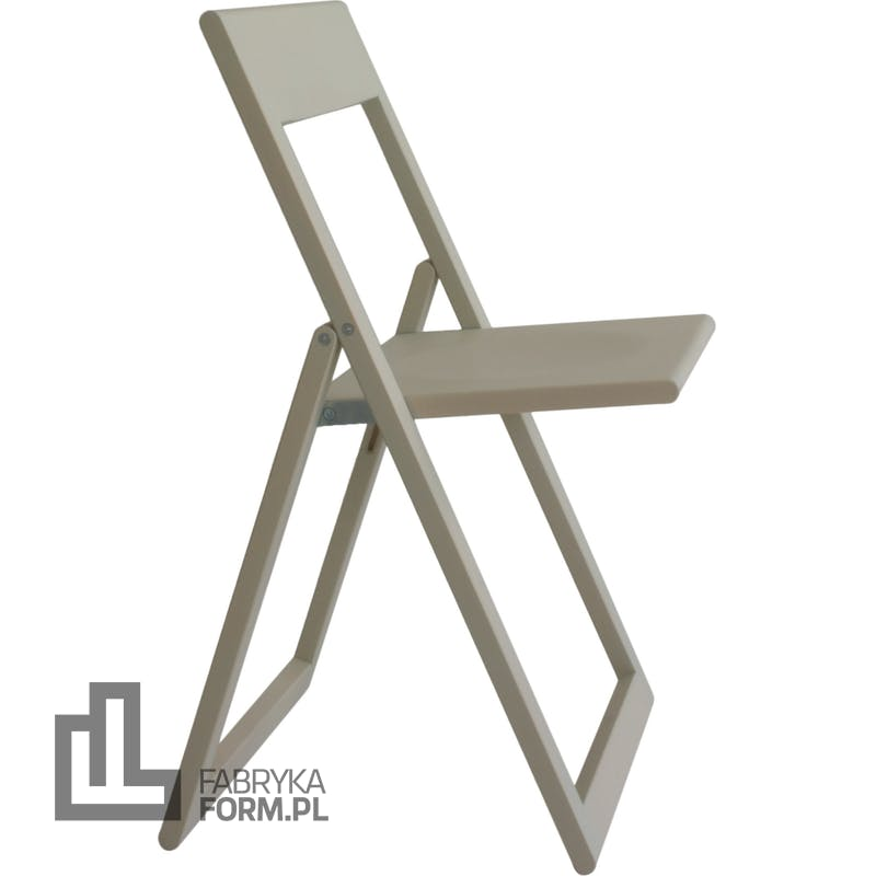 Krzesło składane Aviva jasnozielone