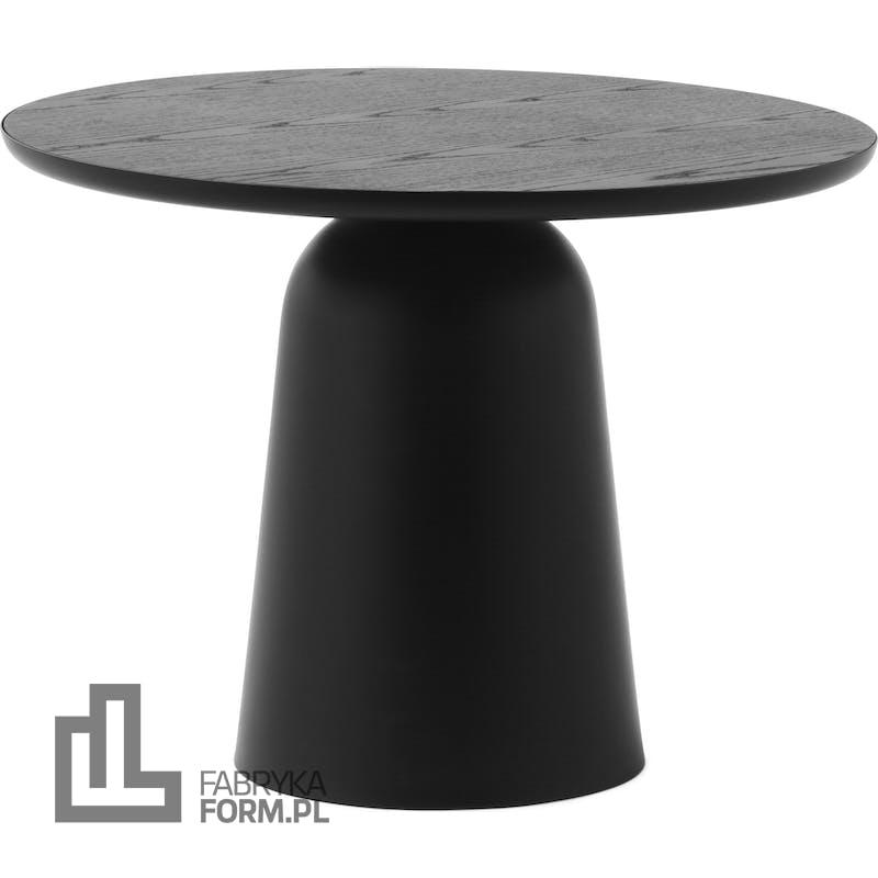 Stół Turn 55 cm czarny z regulacją wysokości