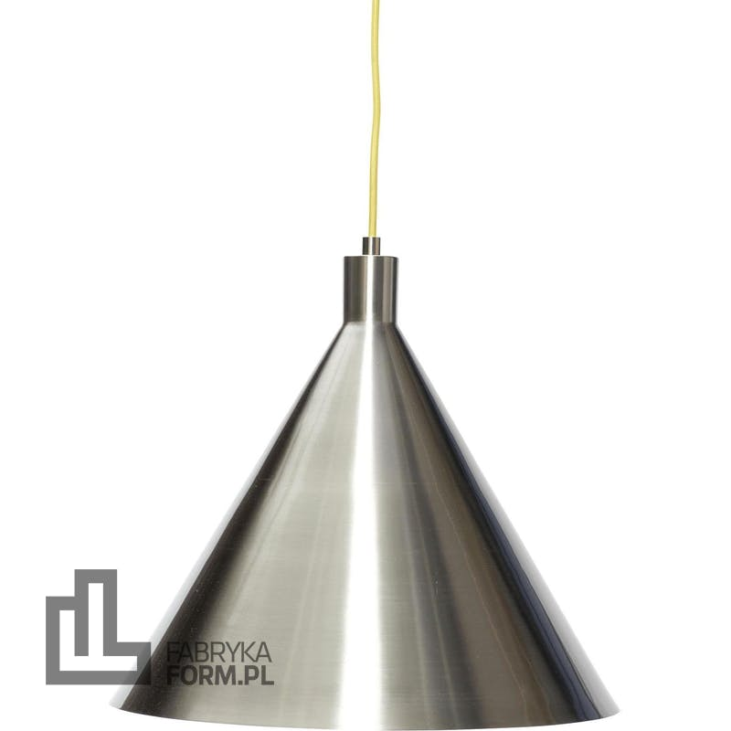 Lampa wisząca Hübsch 40 cm nikiel metalowa
