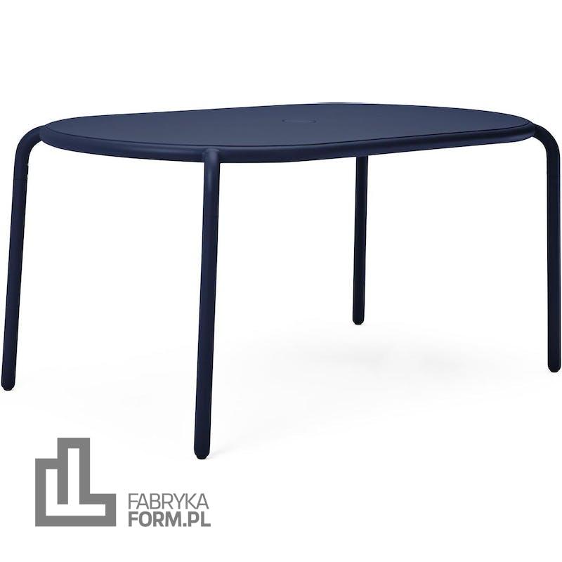 Stolik ogrodowy Toni Tavolo niebieski