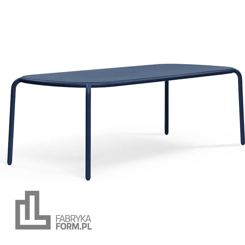 Stół ogrodowy Toni niebieski