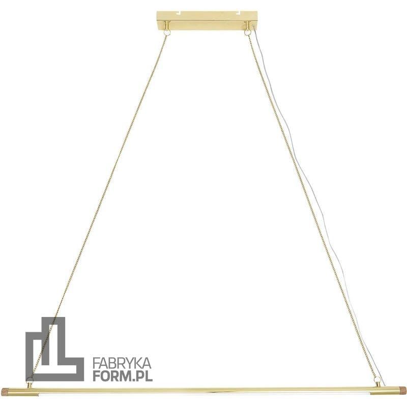 Lampa wisząca Bloomingville 124 cm złota