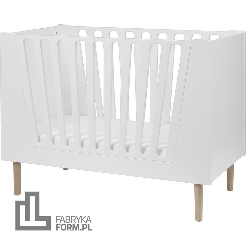 Łóżeczko dziecięce Done by Deer 60 x 120 cm białe
