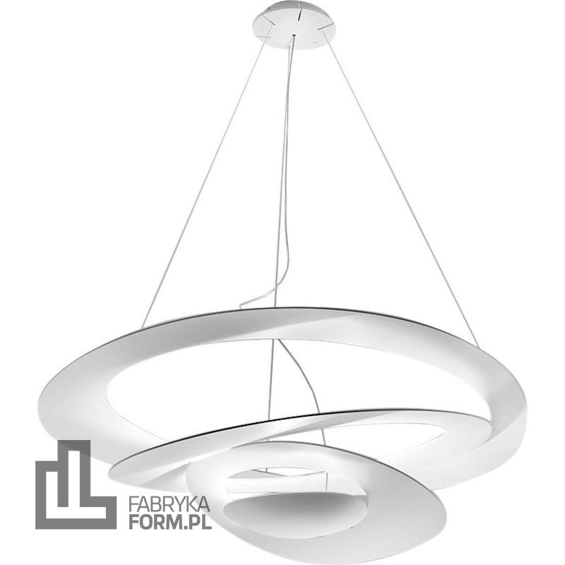 Lampa wisząca Pirce LED 2700 K biała