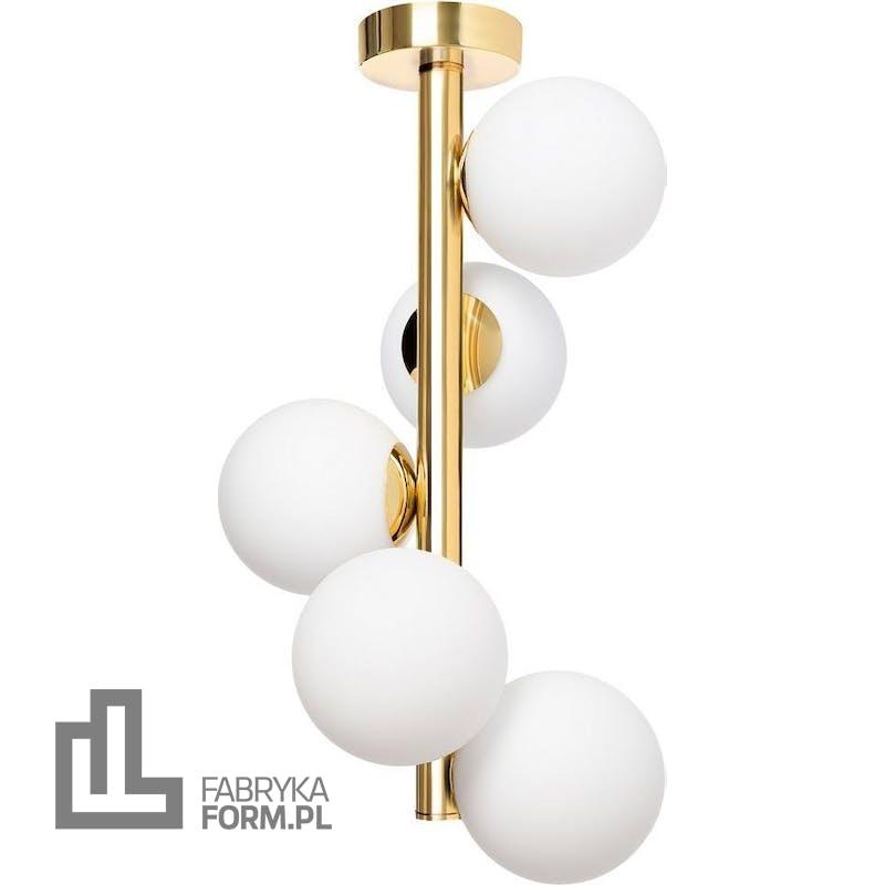 Lampa wisząca Cumulus Vertical 50 cm złota