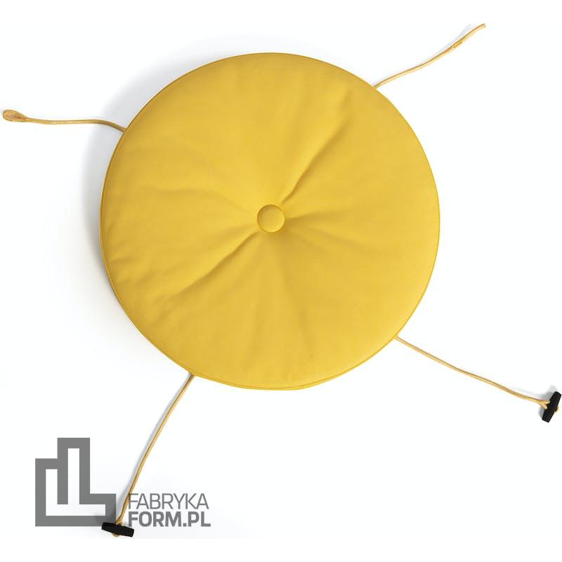 Poduszka na krzesło Toni żółta