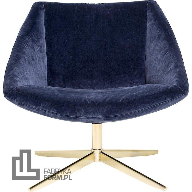 Fotel Elegant niebieski