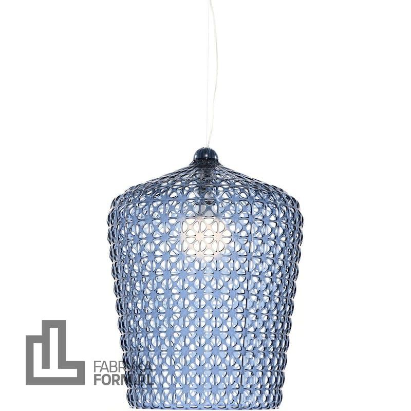 Lampa wisząca Kabuki niebieska