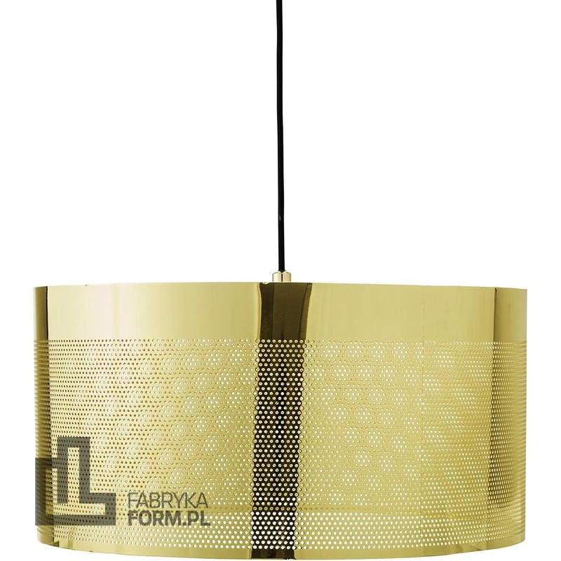 Lampa wisząca Bloomingville 40 cm złota