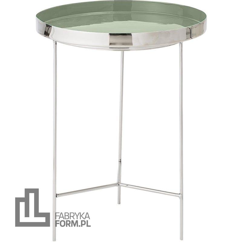 Stolik kawowy Sola 40 cm srebrny