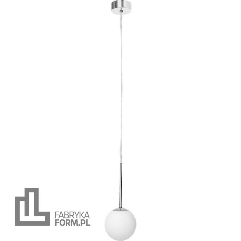 Lampa wisząca Lamia chrom z transparentnym przewodem