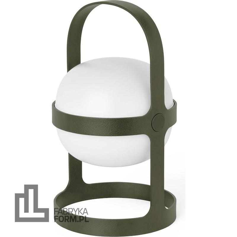 Lampa solarna Soft Spot 25 cm oliwkowa