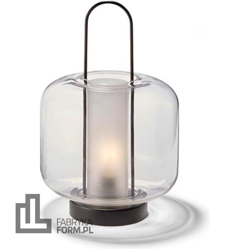 Latarnia Lucia szeroka 34 cm LED