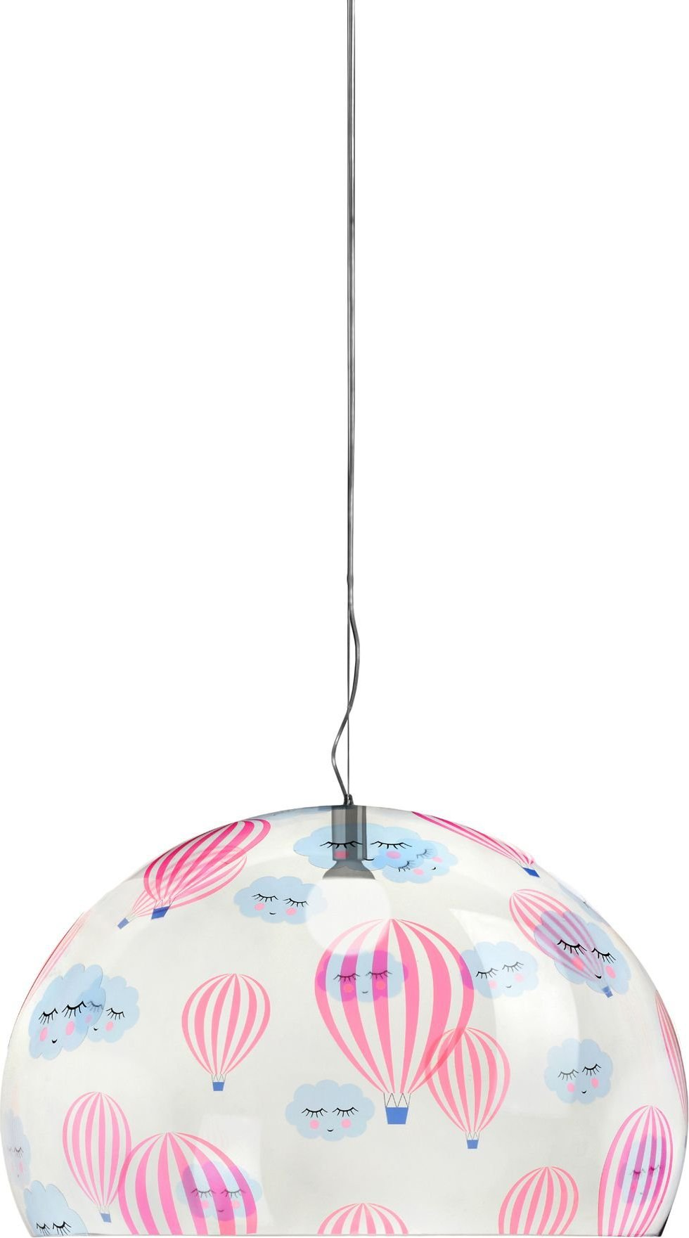 Lampa Fly Kids transparentna w balony