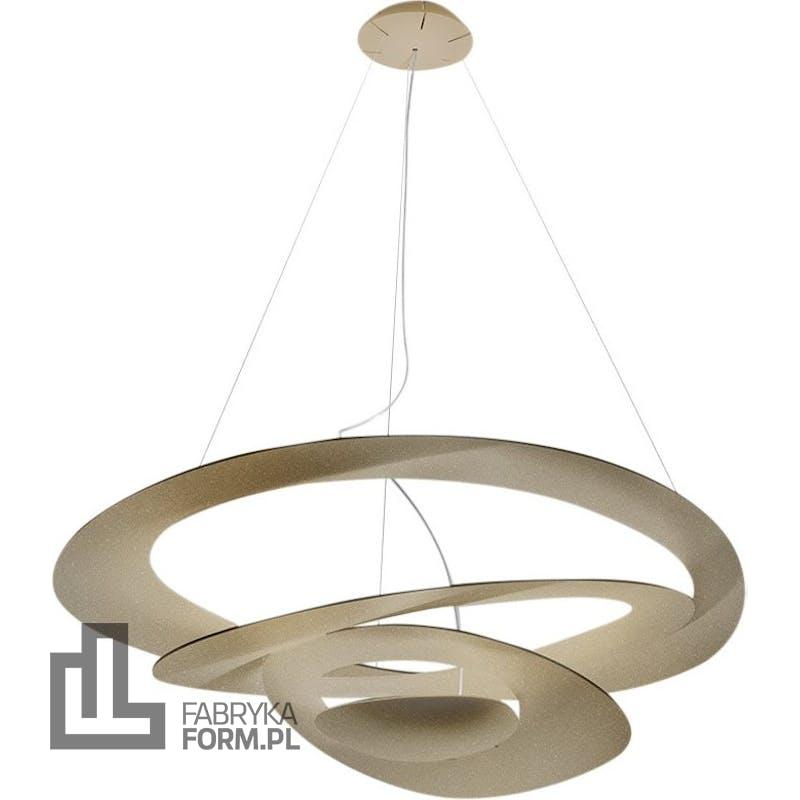 Lampa wisząca Pirce LED 3000 K złota