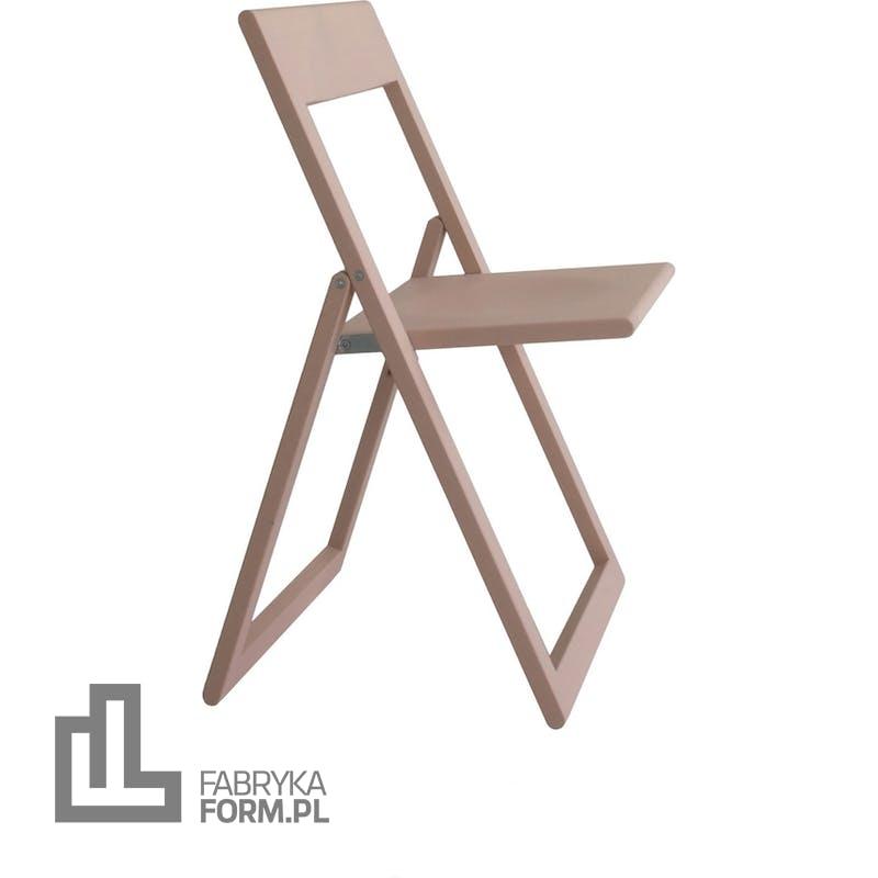 Krzesło składane Aviva różowe