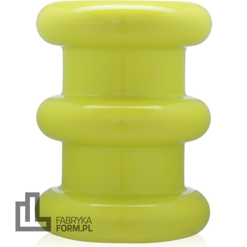 Stołek Pilastro zielony