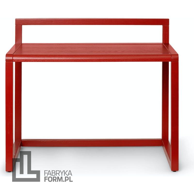 Biurko Little Architect czerwone