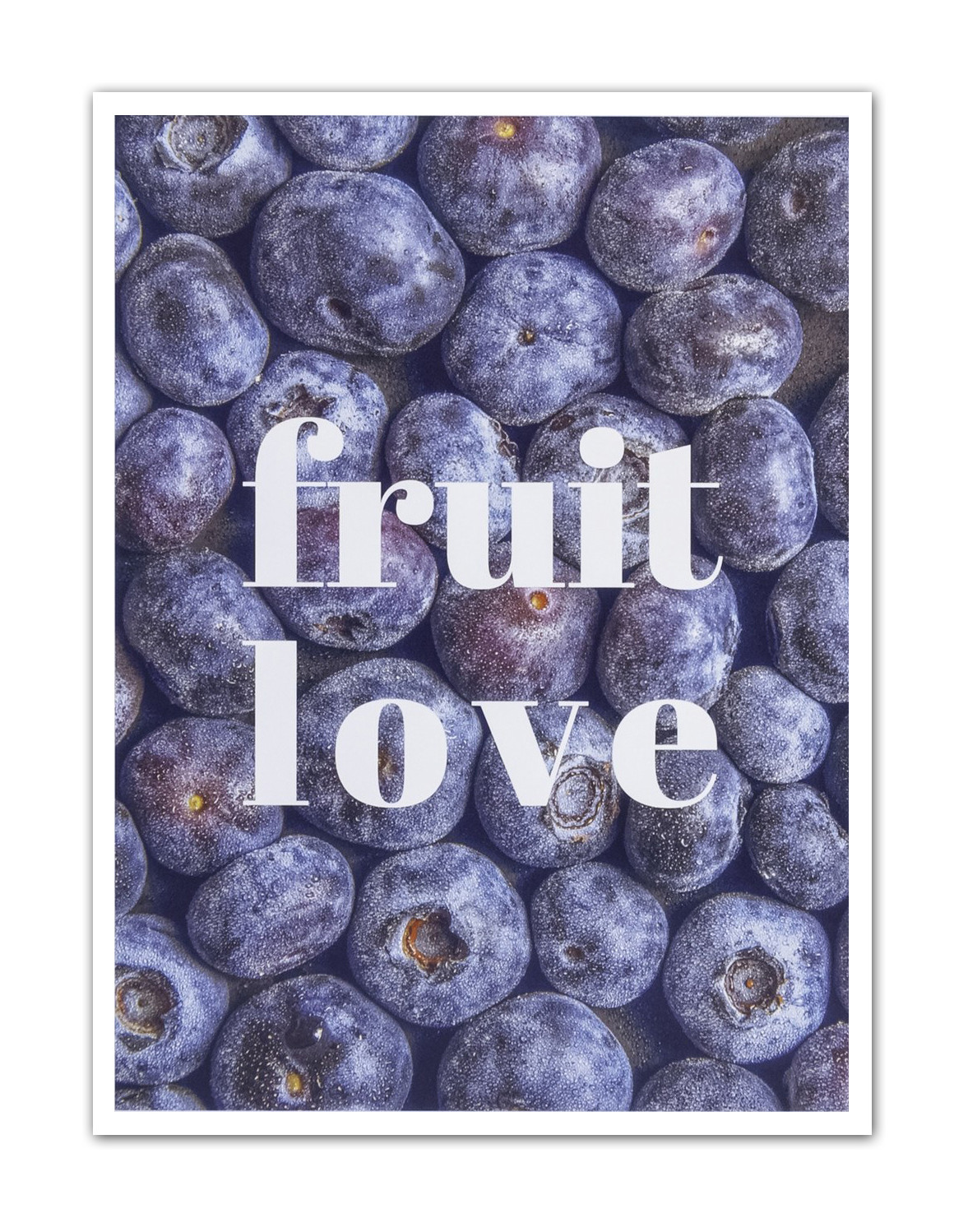 Plakat Fruit Love 21 x 30 cm - 57967