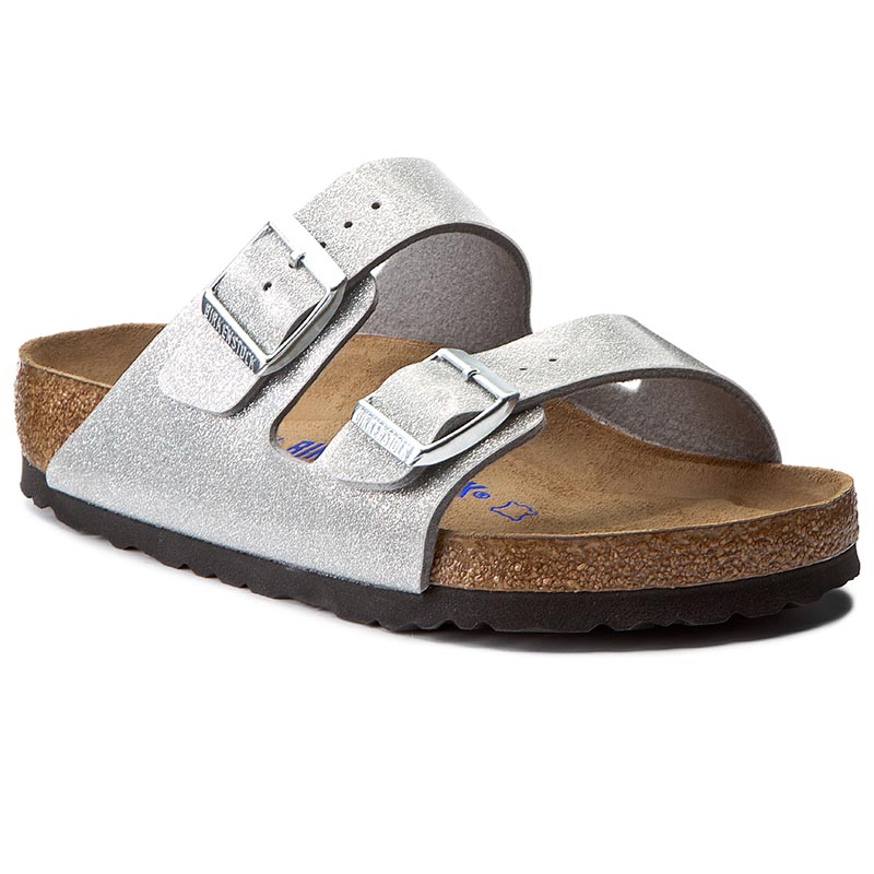 Klapki BIRKENSTOCK - Arizona Bs 0057651 Magic Galaxy Silver