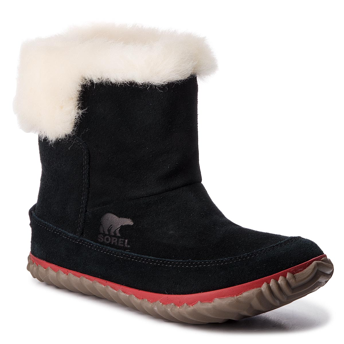 Botki SOREL - Out N About Bootie NL3073 Black/Natural 010