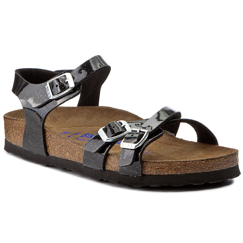 Sandały BIRKENSTOCK - Kumba 1005038 Magic Galaxy Black