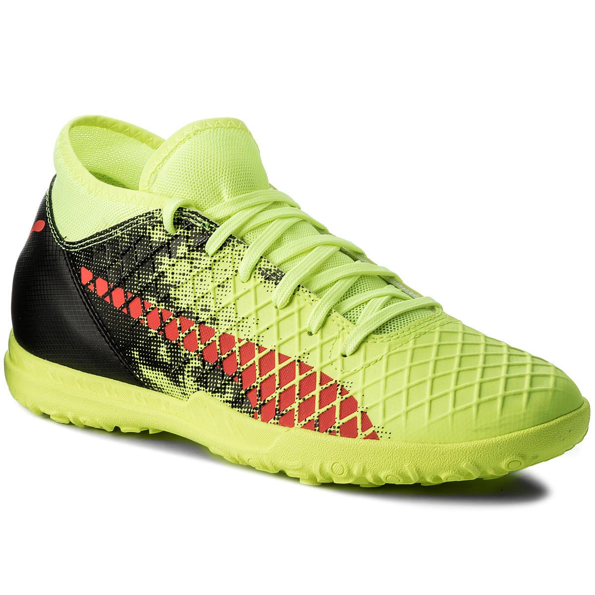 Buty PUMA - Future 18.4 Tt 104339 01 Yellow/Red/Black