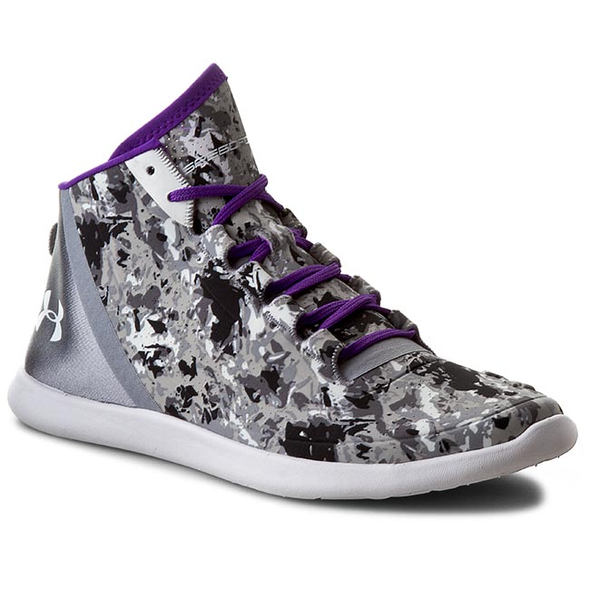 Buty UNDER ARMOUR - Ua W Studiolux Mid Cover 1266425-035 Stl/Grp/Wht