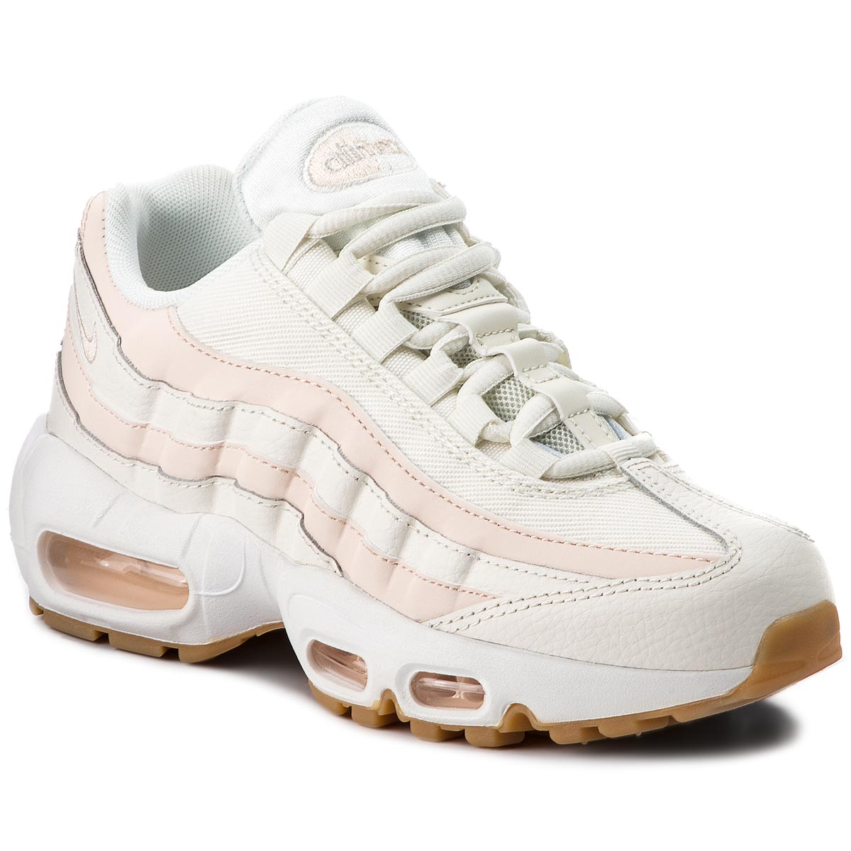 Buty NIKE - Air Max 95 307960 111 Sail/Guava Ice/Gum Light Brown
