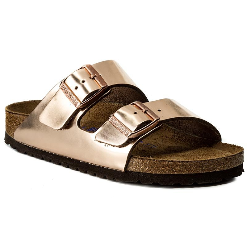 Klapki BIRKENSTOCK - Arizona Bs 0752723  Metallic Copper