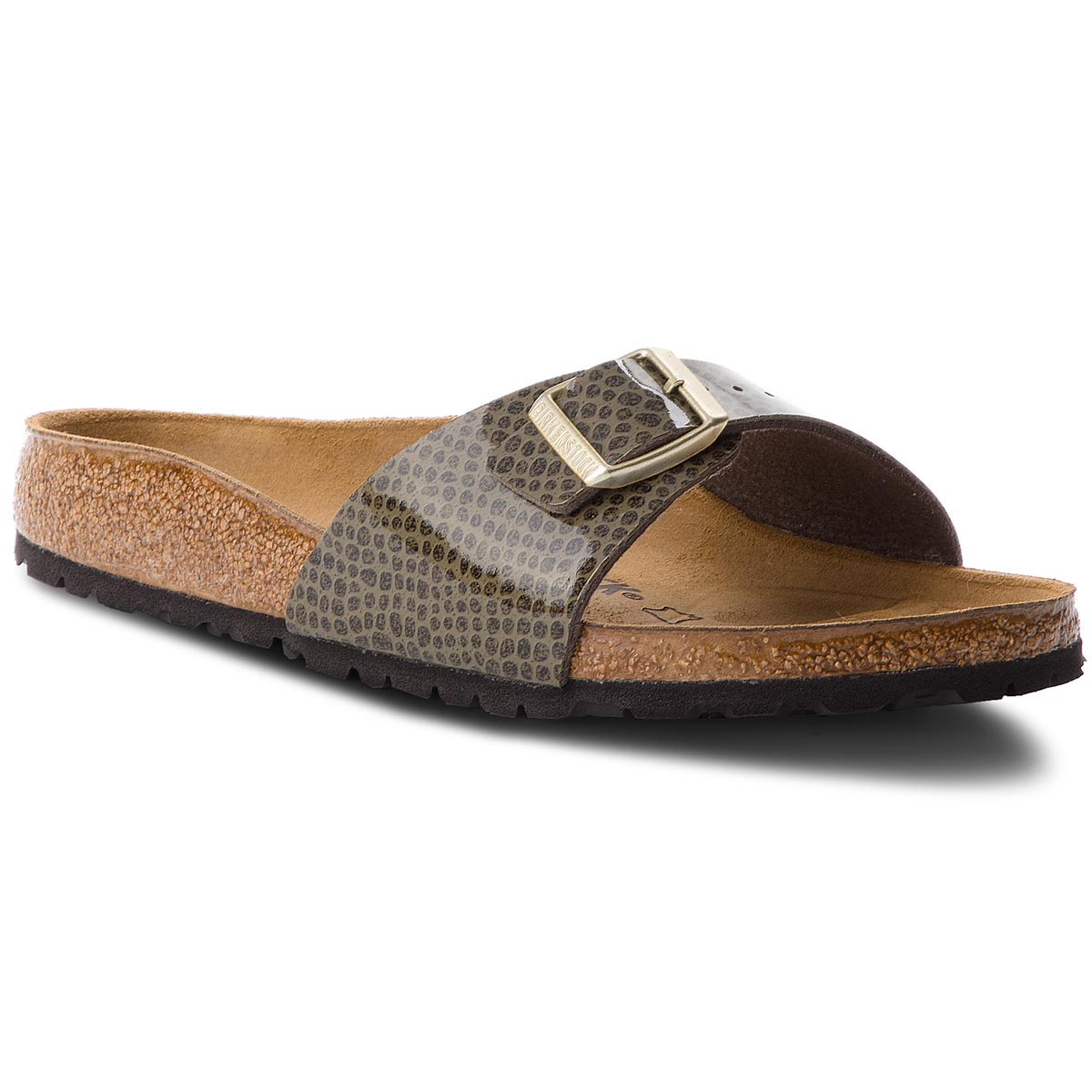 Klapki BIRKENSTOCK - Madrid Bs 1011759 Magic Snake Khaki