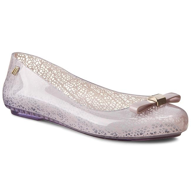 Baleriny MELISSA - Space Love+Jason Wu 31700  Clear/Pink 50490