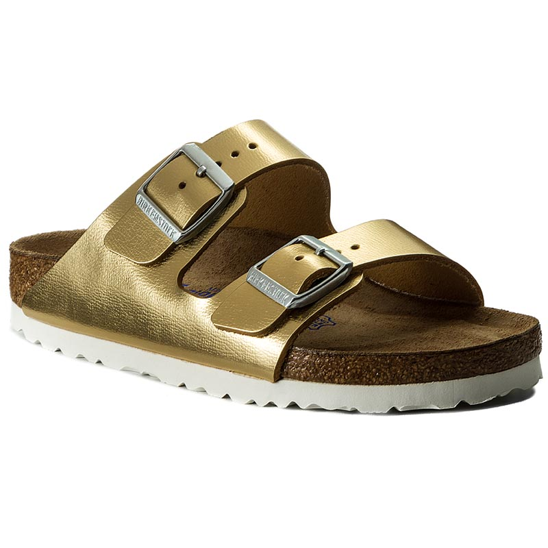 Klapki BIRKENSTOCK - Arizona 1000064 Liquid Gold