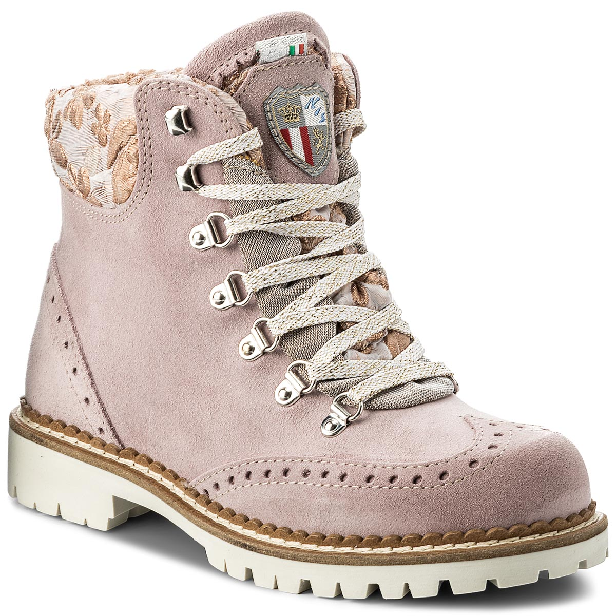Trapery NEW ITALIA SHOES - 1629405C/21 Pink