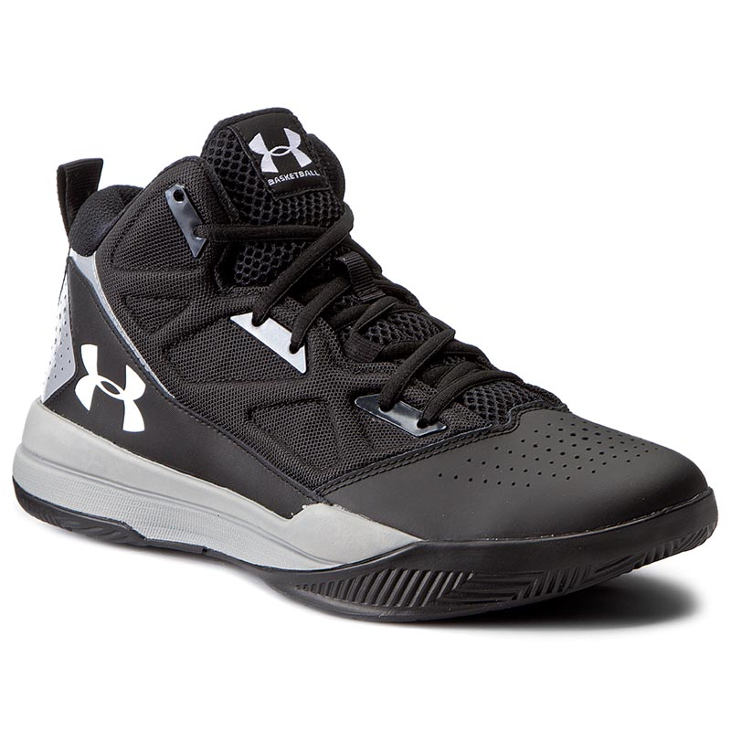 Buty UNDER ARMOUR - Ua Jet Mid 1269280-001 Blk/Stl/Wht
