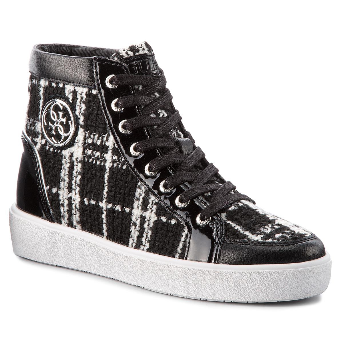 Sneakersy GUESS - FLACE3 FAB12 WHITBL
