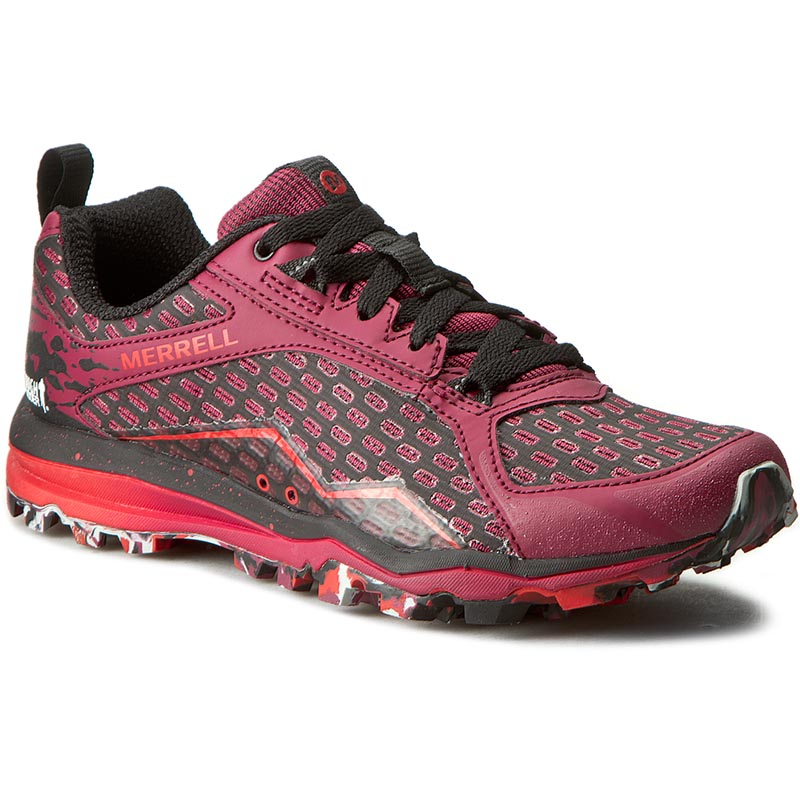 Buty MERRELL - All Out Crush Tough Mudder J37404 Beet Red