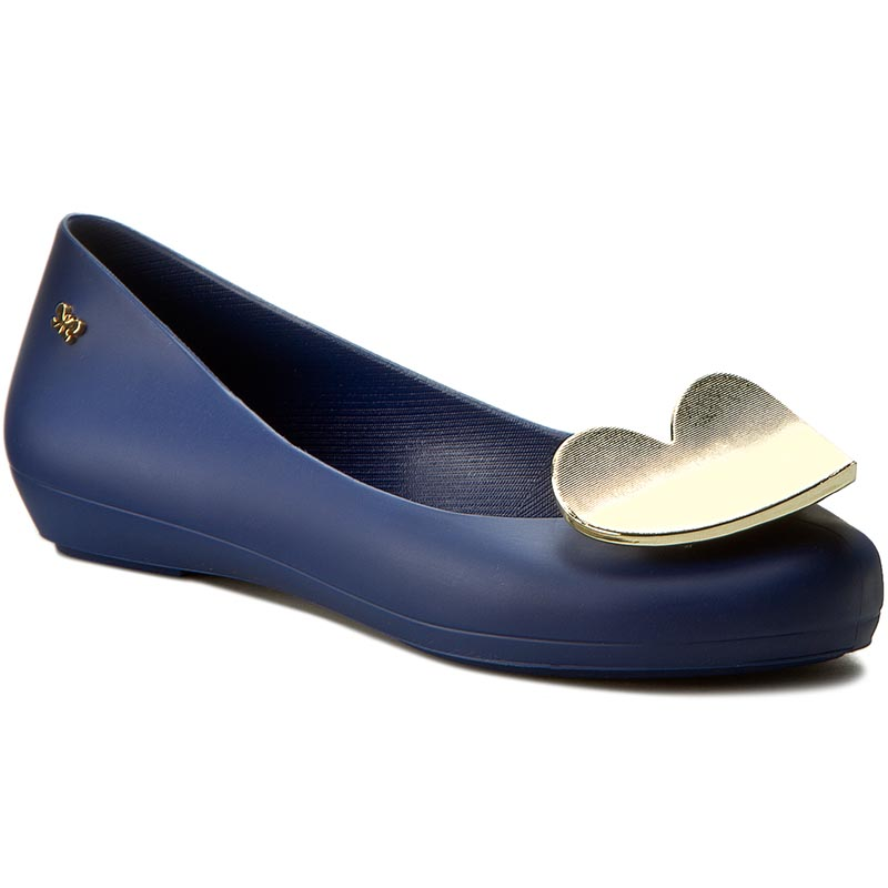 Baleriny ZAXY - Pop Heart Fem 82002 Navy 51765 W285013