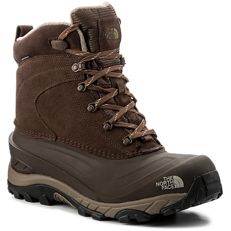 Śniegowce THE NORTH FACE - Chilkat III T939V6ZFD Carafe Brown/Bracken Brown