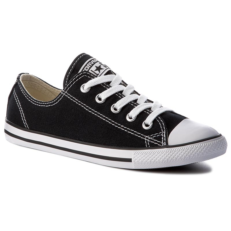 Trampki CONVERSE - Ct As Dainty Ox 530054C Black